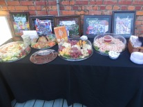 Door Prizes and Hors D'Oeuvres