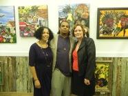Joey, Bryant and Teresa Green