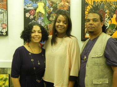 Joey, Lakeisha Brown-Forbes and Bryant