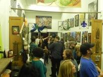Artwalk Attendees