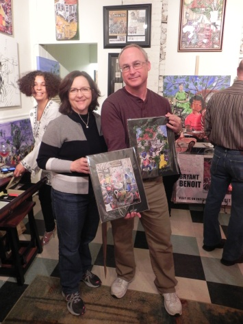 Owners of new Bryant Benoit prints.