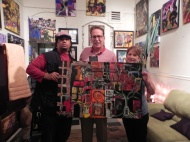 New owners of one of my originals, Attny James Lambert & his loverly wife.