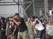 Public Enemy & Flava Flav rockin it at Jazz Fest