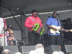 Keith Frank at Jazz Fest 2014