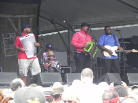 Keith Frand & Soileau Zydeco Band