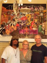 """""""Rebirth"""" found a home, the home of Steve & Diane Chesnick Cofer. Much luv."""