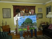 Commissioned for Mark & Cindy Wiley.