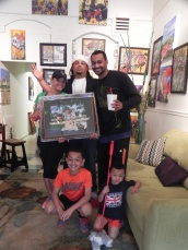 Jamal & Charmaine Jones selected this framed, Artist Edition print for their home.