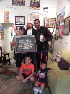 Jamal & Charmaine Jones selected this framed, Artist Edition print for their home.