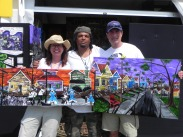 Attny Morris Bart & his wife Cathy picked up these 2 pieces at Jazz Fest in New Orleans.