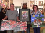 Sold these 2 originals & framed print to Mike & Roxanne Linscomb. They are bringing these home to TX & OK. Much luv.