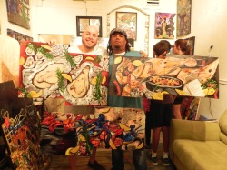 Dr Brent Rochon picked up these 3 seafood themed Bryant Benoit originals. Much luv.