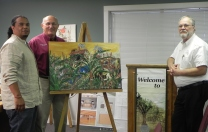 LA SUGAR MILL sold to the City of Youngsville, with Mayor Wilson Viator & Rick Gardner