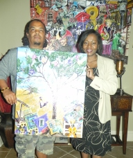 "Regina Owens took ""Journey"" back home to Atlanta, GA."