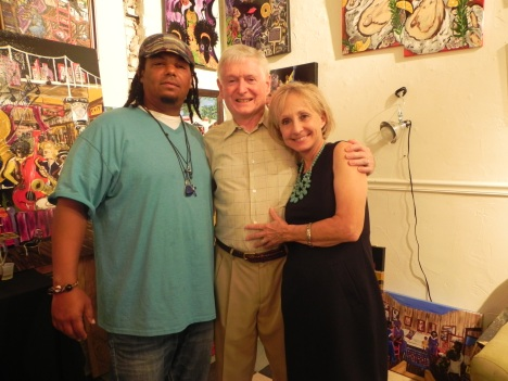 Benoit Gallery clients Marc & Cindy Wiley stopped by to say hello.