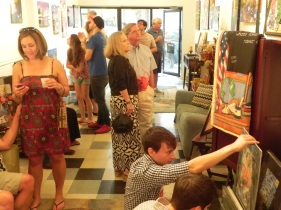 ArtWalk at Benoit Gallery