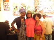 With Artist, Meagan Simone.
