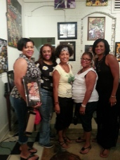 The ATL crew stopped in for ArtWalk .