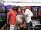Erica & Brent Celestine from Lafayette came by to show some luv and picked up this print.
