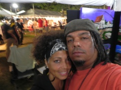 Our Blues N BBQ selfie