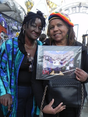 LaBertha McCormick (poet, actress, artist) & Ann Cooper Akeia (Storyteller, poet, visual artist)