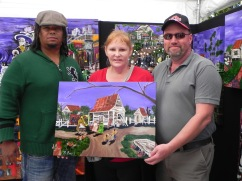 "Shawna Hainsworth & her husband took ""Under the Purple Sky"" back home to Alberta Canada."