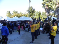 St. Augustine High School Brass Band - Second Line thru Armstrong Park